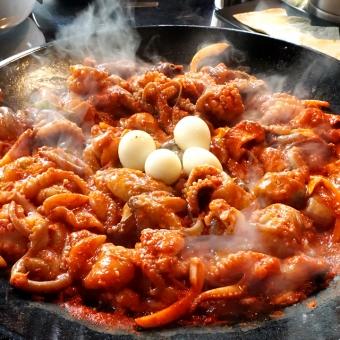 [부산 얼짱쭈꾸미] 감칠맛 쭈꾸미볶음