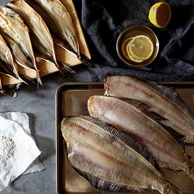 [해풍건조 주문수산]반건조 생선세트