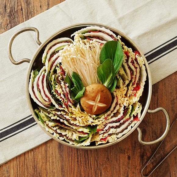 [참바른식품]소고기 밀푀유나베