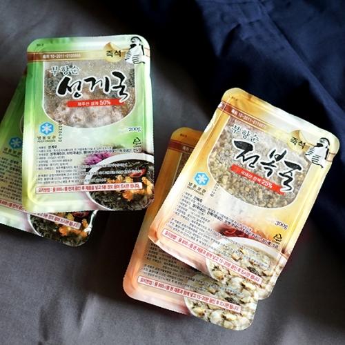[제주도 부향순] 국내산 전복죽 2인x4팩