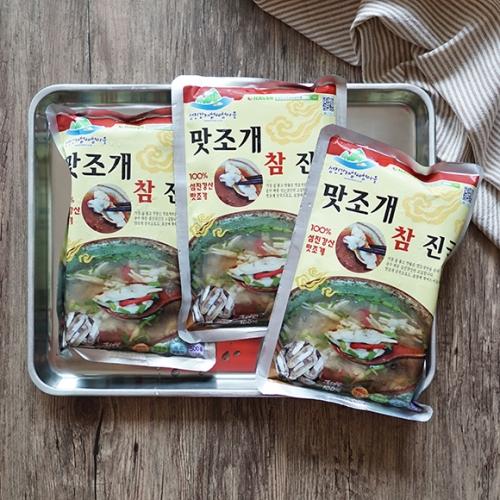 [섬진강 재첩체험마을] 국내산 맛조개진국